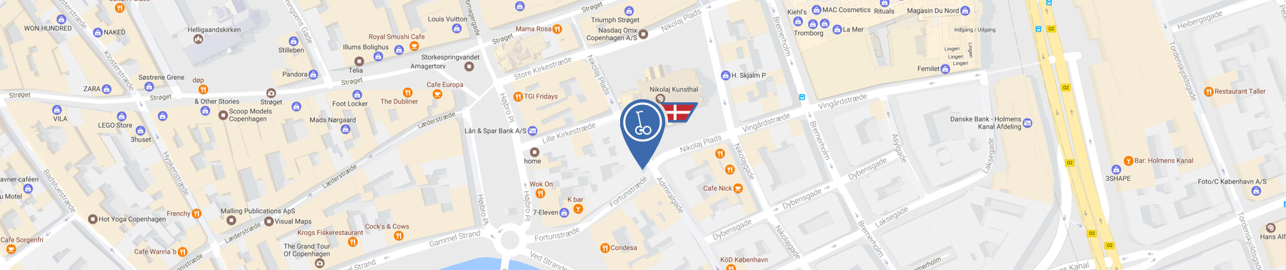 Location Segway Sightseeing Tours Copenhagen