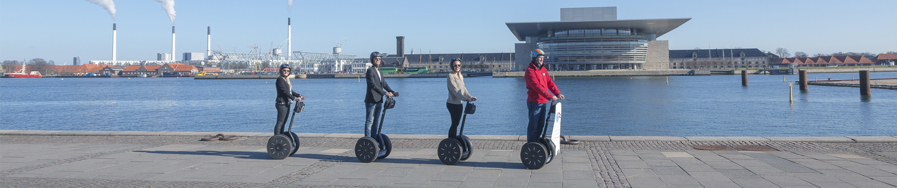 Segway Sightseeing Tours At Waterfront