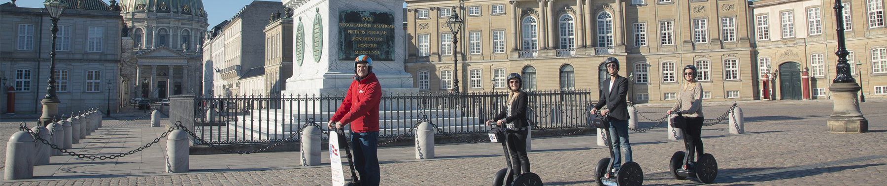 Segway Sightseeing Tours at The Royal Palace