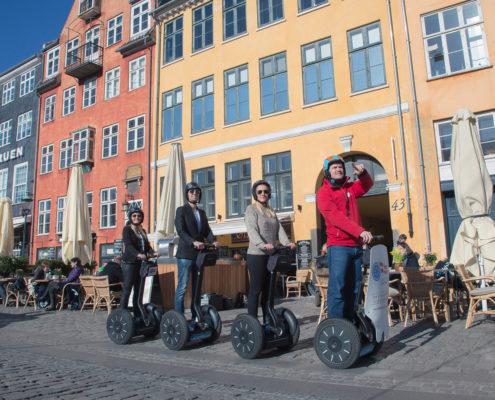 Segway in Copenhagen - Nyhavn